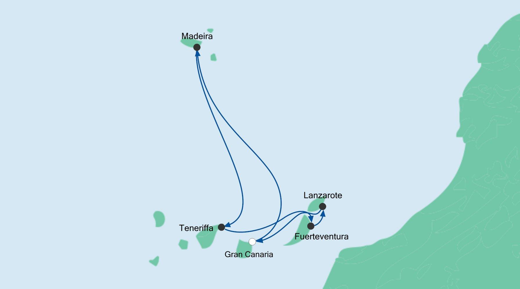 Route Kanaren und Madeira 3